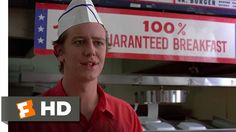 In this clip from Fast Times at Ridgemont High Brad must deal with an angry customer that wants a refund. Brad knew how to handle giving a refund, but didn't handle the angry customer well.