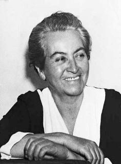 Gabriela Mistral was the pseudonym of Lucila Godoy y Alcayaga, a Chilean poet-diplomat, educator and humanist. In 1945 she became the first Latin American author to receive a Nobel Prize in Literature. Sandra Cisneros, Pablo Neruda, Great Women, Amazing Women, Lyric Poetry, World Icon, Nobel Prize In Literature, Writers And Poets, Latin Women