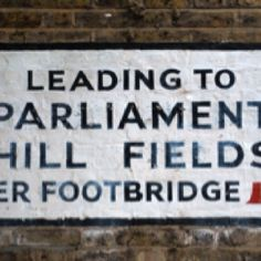 Sign, Hampstead
