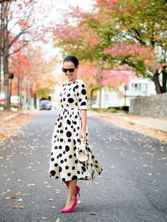 Bittersweet Colours Blog | @veronicapopoiac features Dainty Jewell's Central Park Dress