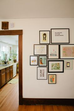 I have two of that illustrations (from Ashley Goldberg) waiting for her place in my walls