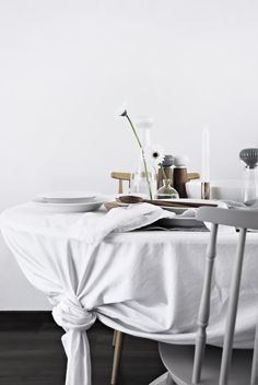 Only Deco Love: Tablecloth Tip for your Easter Table