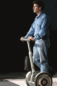 Segway Personal Transporter -  the first self-balancing, zero emissions personal transportation vehicle