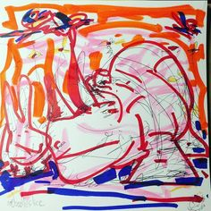 Myopia in the wild 2016-06-08 00:03am #marker #paintmarker #atlarts #bunny #rhino