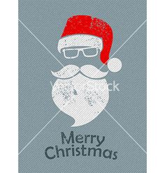 Christmas santa background vector by robin2b on VectorStock®