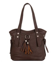 6063769e2e Γυναικεία τσάντα χεριού - ώμου JC OC128-Brown