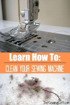Sewing Techniques Couture Learn how to clean your sewing machine. The Sewing Loft - Tiny fibers and dust accumulate inside your machine. Learn how to keep everything running smooth and when to clean your sewing machine. Sewing Hacks, Sewing Tutorials, Sewing Crafts, Sewing Tips, Sewing Ideas, Sewing Basics, Sewing Lessons, Diy Crafts, Dress Tutorials