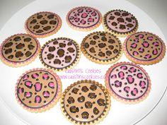 Cristin's Cookies: Animal Print Cookies
