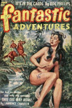 Comic Book Cover For Fantastic Adventures v14 10