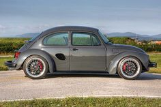 Custom Porsche Boxster with VW Bug body by Siegfried Rudolf