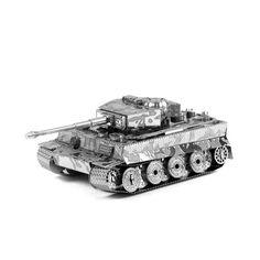 Maquette Métal 3D Tank Tigre
