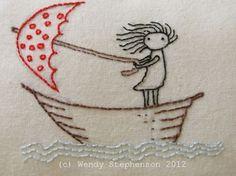 Deshilachado: Wendalane: bordados y dibujos para soñar / Wedanlane: embroideries and drawings to dream
