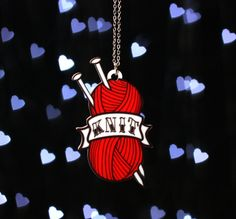Knit Tattoo Necklace- Janine Basil  I ordered this immediately!!!