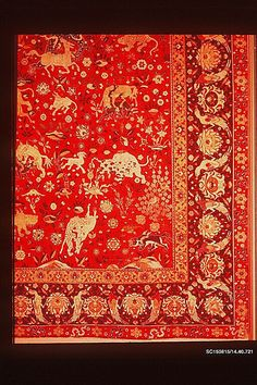 Silk Animal Carpet The Met
