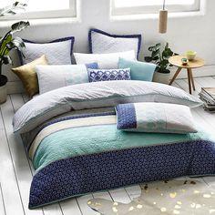 Mercer + Reid Mexicali Bedlinen - Bedroom Quilt Covers & Coverlets - Adairs online