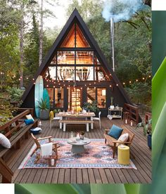 Affordable, easy to build, with bold, fun architecture, A-frame cabins were all the rage in the 1950s–70s as more Americans could afford vacations and second homes. With the mania for mid-century, they're enjoying newfound appreciation, and becoming an Insta darling.
