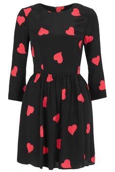 Long Sleeve Heart Flippy Dress. I DIE!!!