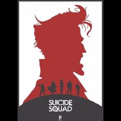 Suicide Squad Redesign Poster (By lewisdowsett)  SuicideSquadShop.com #SuicideSquad #SuicideSquadShop