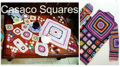 Crochet Jacket, Summer Patterns, Crochet Videos, Crochet Granny, Crochet Clothes, Crochet Projects, Boho Chic, Tutorial Crochet, Pullover