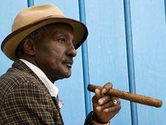 Havana, Cuban Man, Plaza De La Catedral, Havana, Cuba...visit one day maybe...