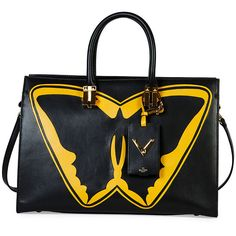 Valentino Superhero Batman Tote Bag (£3,125) ❤ liked on Polyvore featuring bags, handbags, tote bags, valentino handbags, tote purse, tote hand bags, valentino purses and tote handbags