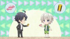 Hachiman Hikigaya & Saika Totsuka | Yahari Ore no Seishun Love Comedy wa Machigatteiru. Zoku | Oregairu 2 | My Teen Romantic Comedy SNAFU 2