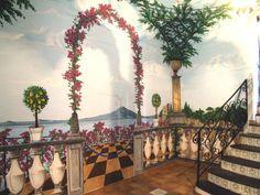 Trompe Loeil Archway 285 425 Pixels Fresque Pinterest Google Amour Et Maison