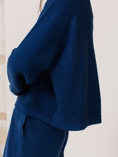 "Arela A/W 15 Collection ""Lunar Mare"".  Noelle sweater and Kaoru sweatpants in cashmere. Photography Osma Harvilahti, art direction Linda Bergroth, model Caroline Farneman."