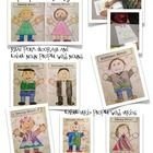 This is a fun little project where students decorate and label cute little people with nouns and verbs. My students loved decorating Nancy  and Nor...