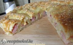 Hungarian Recipes, Hungarian Food, Lasagna, Sandwiches, Bakery, Food And Drink, Pizza, Bread, Snacks