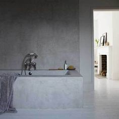 STIL INSPIRATION: Concrete Tub