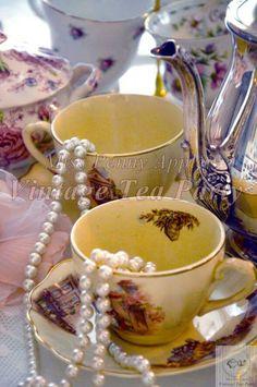 Tea cups bone china....♡