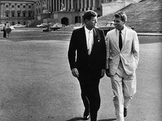 Jack and Bobby Kennedy