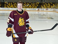 The history of some of the best Finnish women's players making the trek to play hockey for the University of Minnesota Duluth is well documented. Olympic Athletes, Olympic Team, Winter Olympics, Olympians, Locker, Bulldogs, February, Baseball Cards, History