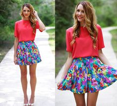 Love the skirt and colors#Repin By:Pinterest++ for iPad#