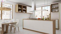 Z131 NF40 to wyjątkowy dom z kategorii projekty domów z dachem dwuspadowym Vogue, Table, Furniture, Home Decor, Projects, Decoration Home, Room Decor, Tables, Home Furnishings