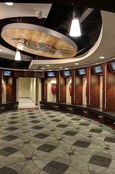 South Carolina Women's Basketball Locker Room - Colonial Life Arena