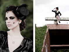 Acessórios de cabeça: Bárbara Heliodora Produção: Saulo Almeida Beauty: Contemporânea by JJ Estrela Modelos: Scouting Models Fotografia: Daniel Farias