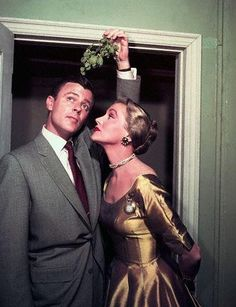 Mistletoe is a grand idea until your auntie with the moustache takes you by surprise...