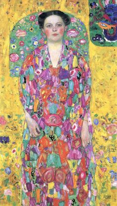 Gustav Klimnt  I love the colors in this painting