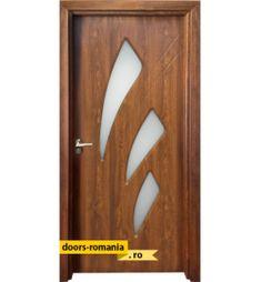Uși de interior în România la un preț super | Doors Romania Modern Exterior Doors, Security Door, Wood Doors, Bottle Opener, Wall, Interiors, Modern Wooden Doors, Firewood Holder, Wooden Doors