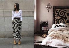 Moda e Décor - Étnico. Veja mais: http://casadevalentina.com.br/blog/detalhes/moda-+-decor--etnico-2932 #decor #decoracao #interior #design #casa #home #house #idea #ideia #detalhes #details #style #estilo #casadevalentina #etnico #moda #fashion #bedroom #quarto