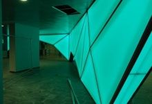 rethink light solutions with backlit wall panels
