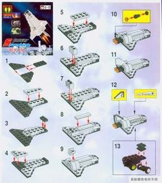 Lego Building Project For Kids can find Lego building and more on our website.Lego Building Project For Kids 83 Lego Duplo, Lego Moc, Legos, Nave Lego, Lego Space Shuttle, Instructions Lego, Modele Lego, Cuadros Star Wars, Lego Kits