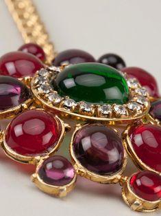 Chanel Vintage large pendant necklace