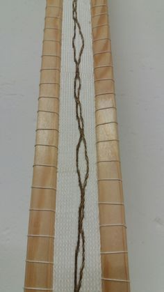 Manuel Wandl 2016 Cardweavingobject with wood Weaving, Curtains, Wood, Home Decor, Blinds, Decoration Home, Woodwind Instrument, Room Decor, Timber Wood