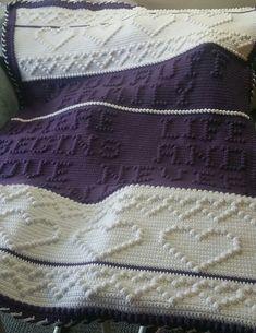 Ravelry: 54 Where Life Begins pattern by Nancy Liggins Crochet Bobble Blanket, Bobble Stitch Crochet, Afghan Crochet Patterns, Puff Blanket, Crocheting Patterns, Stitch Patterns, Knitting Patterns, Crochet Afgans, Knit Crochet