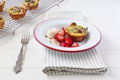 Spinach and Turkey Sausage Breakfast Bites | Udi's® Gluten Free Bread