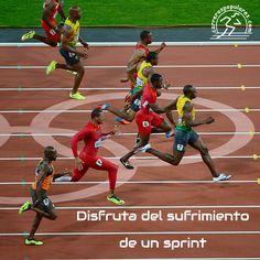 Disfruta del sufrimiento de un sprint