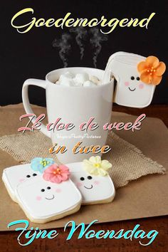 Good Morning Wallpaper, Afrikaans, Happy Wednesday, Morning Wish, Morning Images, Smiley, Qoutes, Gifs, Cards